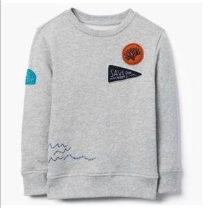 Gymboree Boys Save the Ocean Sweatshirt NWT